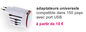 comparatif adaptateurs universels